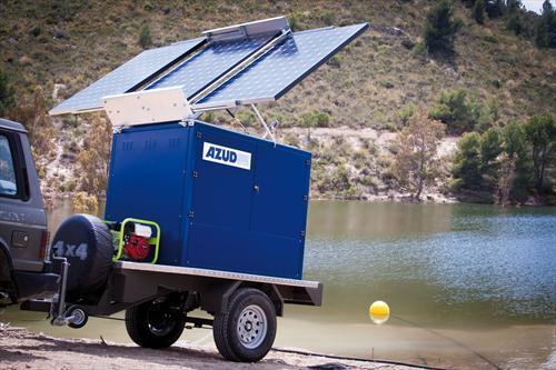 Автономные мобильные станции водоподготовки