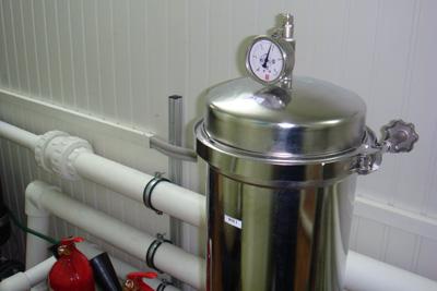Картриджные фильтры с корпусами из нержавеющей стали