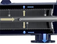 режимы работы сканерного сетчатого фильтра
